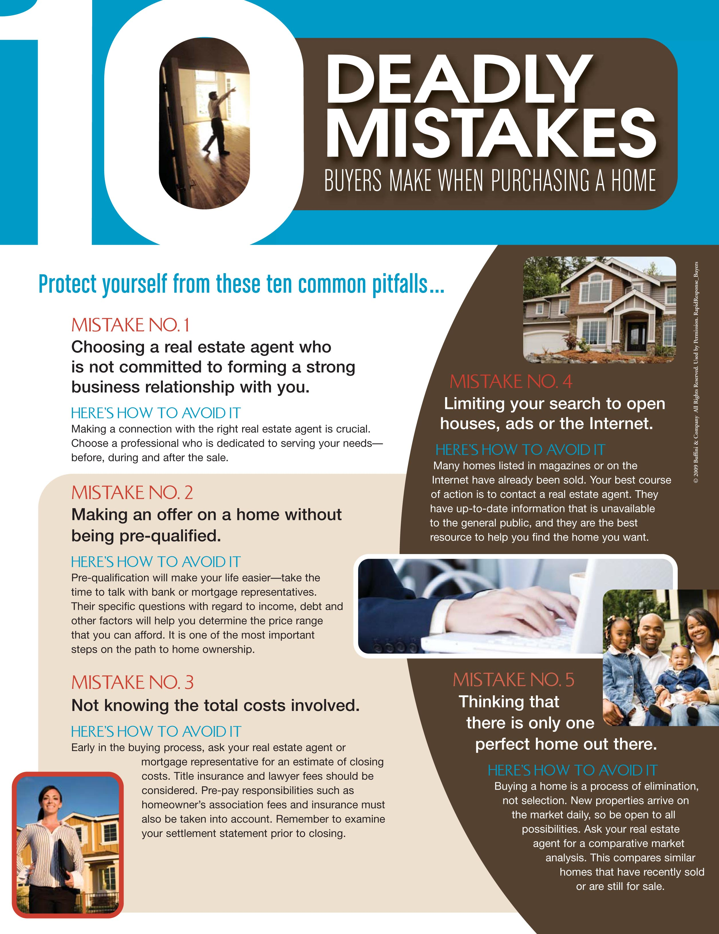 10 deadly mistakes dna homes Mortgage to buy land